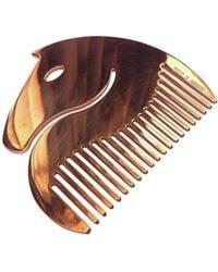Hermès - Gold Metal Hair Accessory - Lyst
