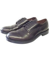 Acne Studios - Leather Lace Ups - Lyst