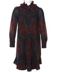 Marc By Marc Jacobs - Burgundy Wool Dress - Lyst