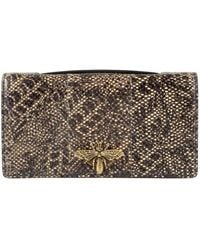 471a734c31c936 Dior - Pre-owned D-bee Beige Exotic Leathers Clutch Bags - Lyst