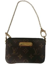 Louis Vuitton - Milla Brown Leather - Lyst