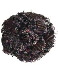 Chanel - Camélia Multicolour Metal Pins & Brooches - Lyst