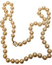 Chanel - Collier en perle - Lyst