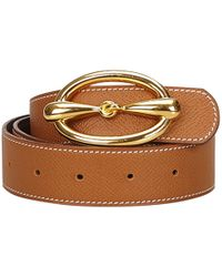 Hermès - Leather Belt - Lyst
