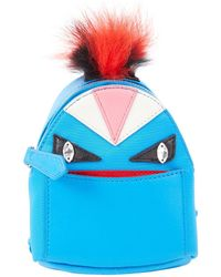 d0a2ec8e3fc1 Lyst - Fendi Monster Animation Bag Charm With Fur