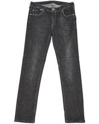 Victoria Beckham - Black Cotton - Elasthane Jeans - Lyst