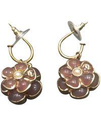 Chanel - Camélia Earrings - Lyst