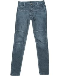 Maje - Pre-owned Slim Jeans - Lyst