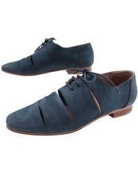 2535804172b0ec Chanel. Black Leather Sandals. £559. Vestiaire Collective · Hermès - Pre- owned Lace Ups - Lyst