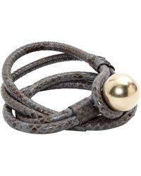 Chloé - Pre-owned Python Belt - Lyst