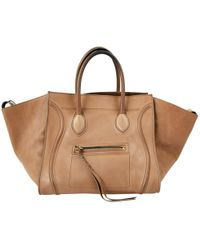 Céline - Pre-owned Luggage Leather Bag - Lyst
