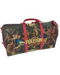 Louis Vuitton - Keepall Cloth 48h Bag - Lyst