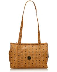 MCM - Pre-owned Leather Tote - Lyst