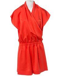 Lanvin - Pre-owned Silk Jumpsuit - Lyst