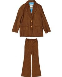Acne Studios - Brown Polyester Jumpsuits - Lyst