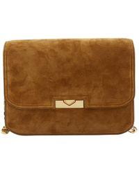 Victoria Beckham - Pre-owned Camel Suede Handbags - Lyst