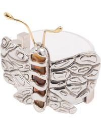 Chloé - Silver Metal Bracelet - Lyst