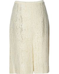 Céline | Pre-owned Mid-length Skirt | Lyst