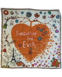 Longchamp - Pre-owned Silk Handkerchief - Lyst
