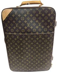 Louis Vuitton Cloth Travel Bag in Gray for Men - Lyst 70c49a99eed9b