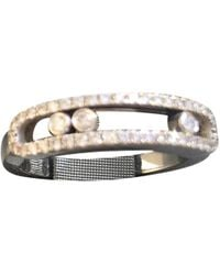 Messika - Pre-owned Move Classique White Gold Ring - Lyst