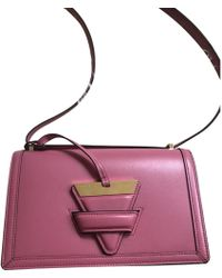 Loewe - Pre-owned Barcelona Leather Handbag - Lyst