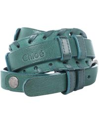 Chloé - Pre-owned Leather Belt - Lyst