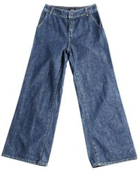 A.P.C. - Loose Fitting Jeans - Lyst