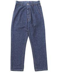 Moncler - Blue Denim - Jeans Trousers - Lyst