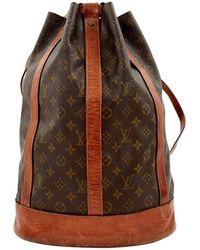Louis Vuitton - Mochila de Lona - Lyst