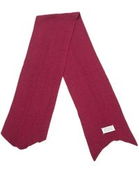 Maison Margiela - Pre-owned Pink Scarf - Lyst