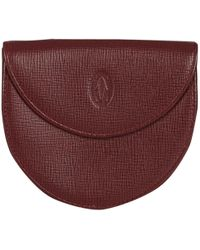 Cartier - Red Leather - Lyst