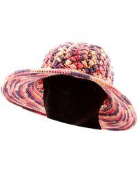 Missoni Bucket Hat in Blue - Lyst 2ac4da5c4c0