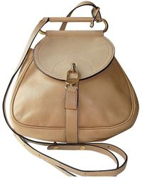 Delvaux - Pre-owned Leather Backpack - Lyst