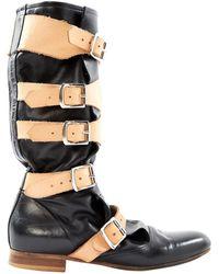 Vivienne Westwood - Black Leather Boots - Lyst