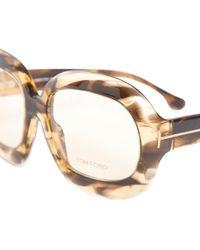 03538e17767 Lyst - Tom Ford Ft5249 045 Oval Unisex Eyeglasses Frame