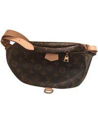 2a7e33d61c6a Louis Vuitton - Pre-owned Bum Bag   Sac Ceinture Brown Cloth Clutch Bags -