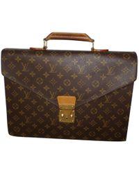 Louis Vuitton - Cloth Satchel - Lyst