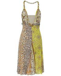 Roberto Cavalli - Mini Dress - Lyst