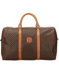 Céline - Pre-owned Cloth Travel Bag - Lyst