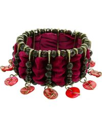 Jean Paul Gaultier - Vintage Silver Metal Bracelets - Lyst