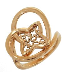 Louis Vuitton | Pre-owned Pink Gold Ring | Lyst