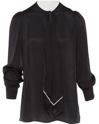 Givenchy - Pre-owned Silk Blouse - Lyst