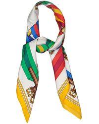 Hermès - Carré 90 Multicolour Silk Silk Handkerchief - Lyst
