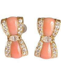 Van Cleef & Arpels - Pre-owned Yellow Gold Earrings - Lyst