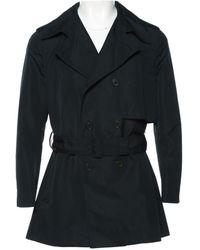 Dior - Black Polyester Coat - Lyst