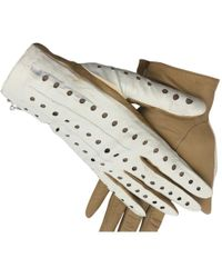 Chanel - Pre-owned Other Leather Gloves - Lyst