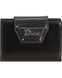 Dior - Black Leather Small Bag, Wallets & Cases - Lyst