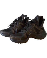 Louis Vuitton - Pre-owned Archlight Cloth Trainers - Lyst