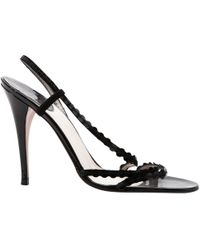 Dior - Pre-owned Patent Leather Sandals - Lyst